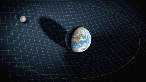 美媒:为什么地球引力把我们下拉,而不是上推?