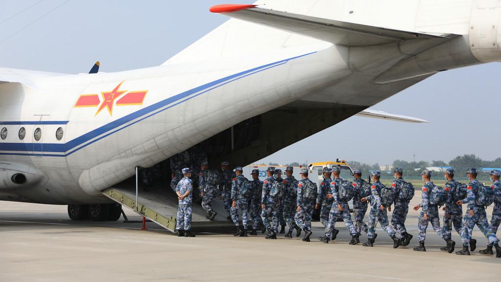 """中国海军派出多支参赛队参加""""国际军事比赛-2021"""""""