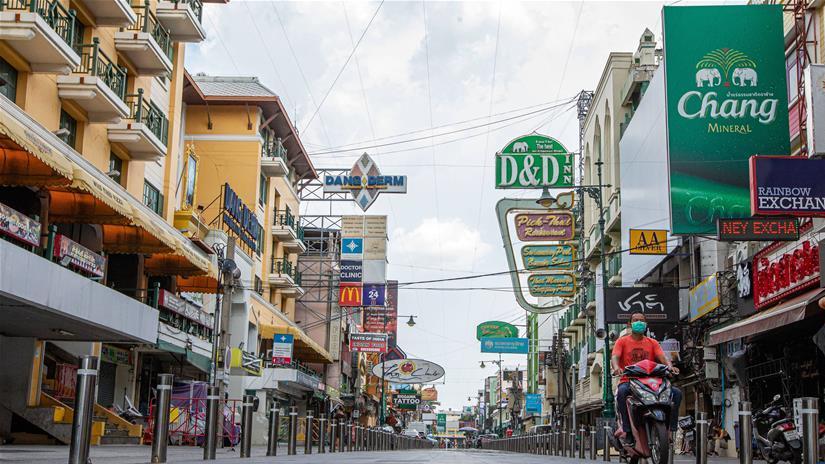 泰国累计新冠确诊病例数破百万