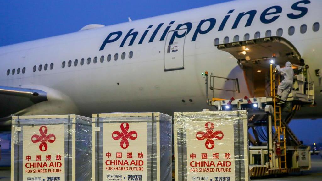 菲律宾总统感谢中国援助疫苗支持菲抗疫