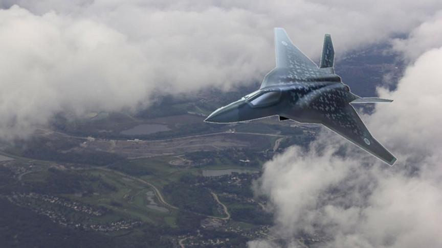 """日本""""哥斯拉""""战机雏形初现:或与F-22相似,但更大"""