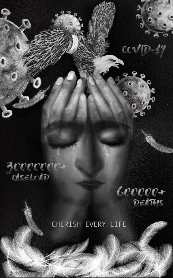 8月6日播发海报《每条生命都被值得珍惜》