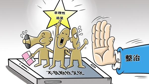 美媒关注:中国出手整治非理性追星行为