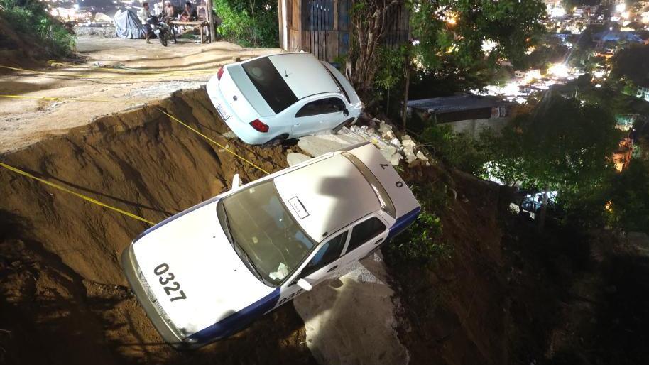 直击墨西哥地震现场
