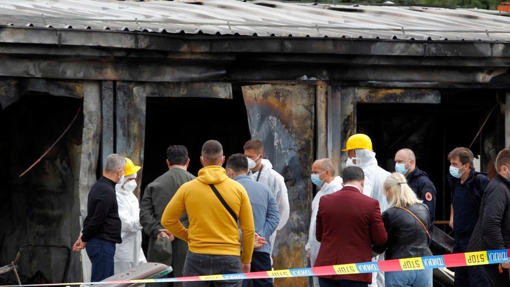 北马其顿一医院起火至少14人死亡