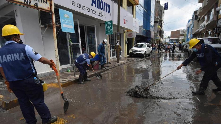 墨西哥洪水