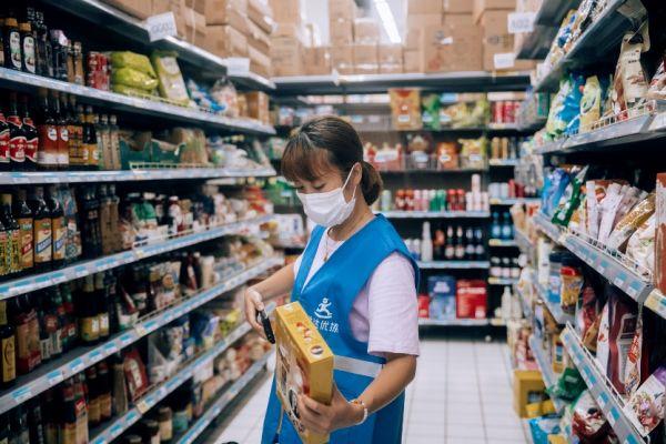 图:达达优拣众包拣货方案帮助零售门店高效拣货