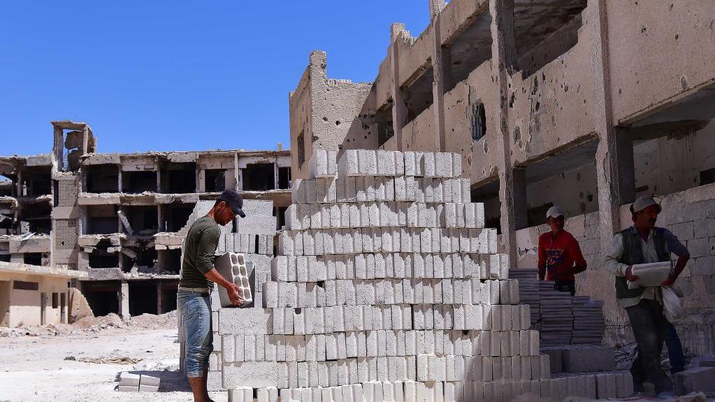 叙利亚:重建校园