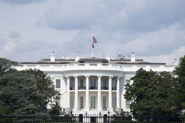 911白宫降半旗