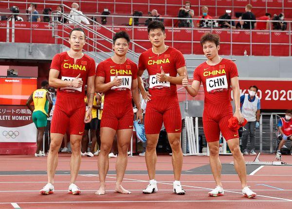 中国奥运田径接力队