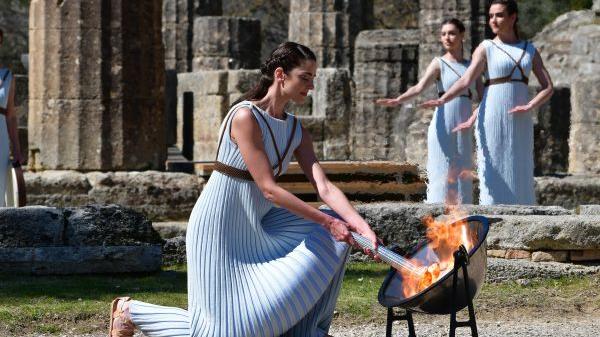 俄媒报道:北京冬奥圣火下月在希腊点燃