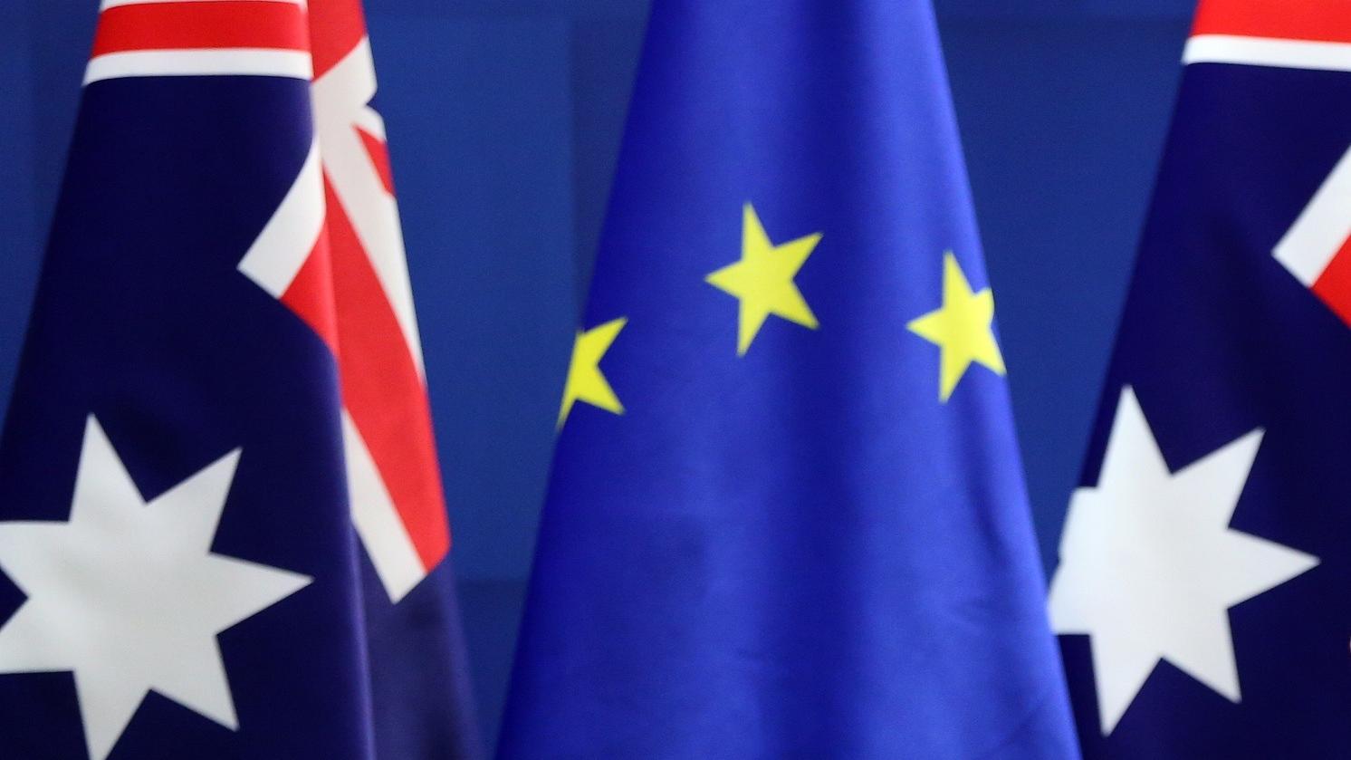 欧澳自贸协议生变数?欧盟官员:信任消失了