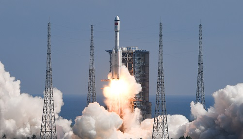 外媒聚焦:天舟三号与空间站成功对接