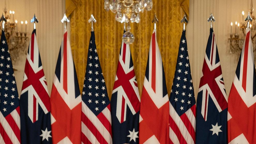 """外媒评述:澳英美联盟印证美""""外交退缩""""趋势"""