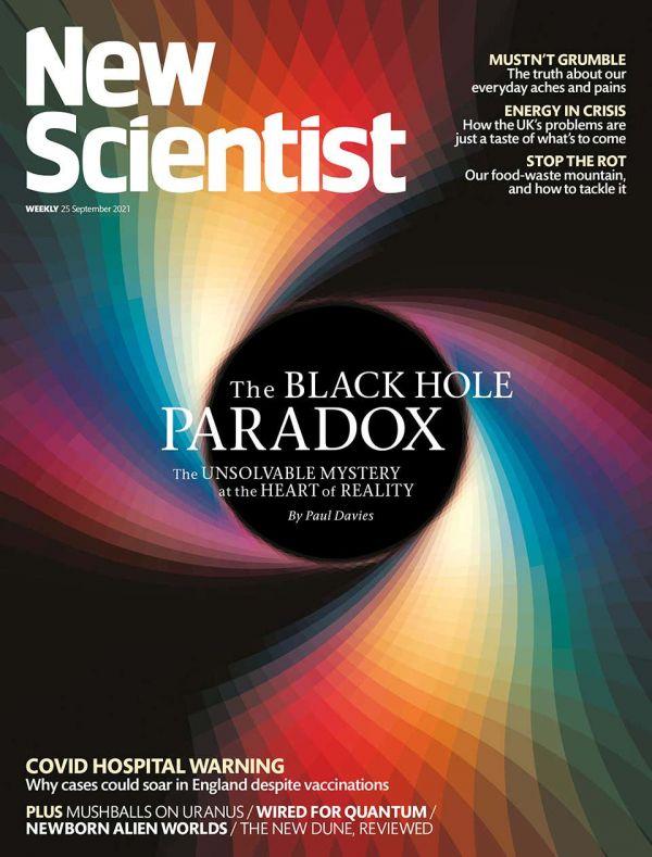 参考封面秀 黑洞信息悖论待解
