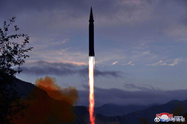 朝中社:朝鲜成功试射新型高超音速导弹