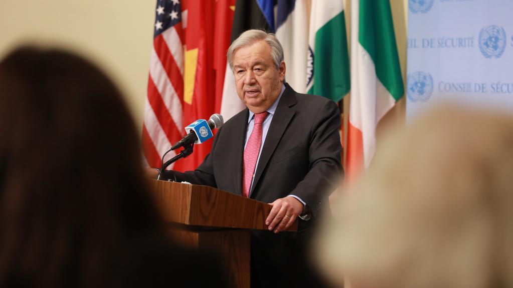 古特雷斯呼吁国际社会采取行动避免阿富汗经济崩溃