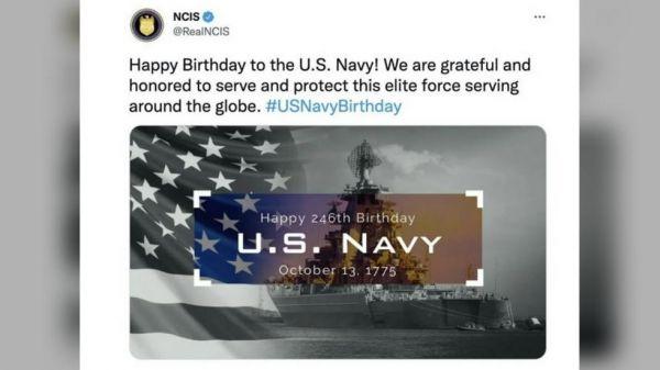 乌龙!美军错用俄战舰照片庆祝海军生日