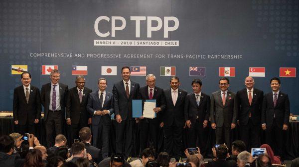 日报文章:中国申请加入CPTPP考验日本