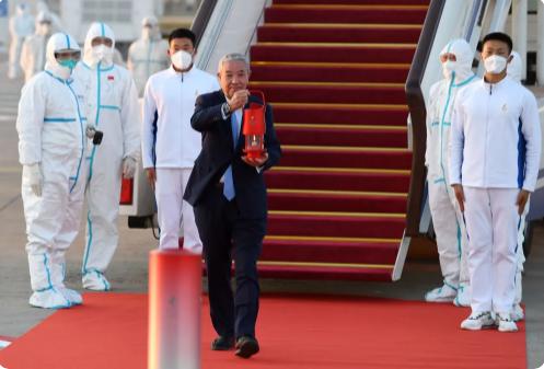 2022年冬奥会火种顺利抵达北京