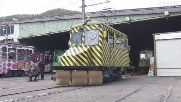 """日本札幌标志性风景:除雪""""Sasara电车""""正为入冬做准备"""