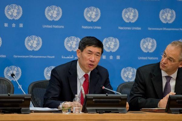 """联合国助理秘书长徐浩良:""""中国理念开启全球治理新篇章"""""""