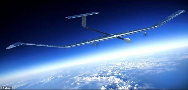 可一次凌空18天:空客太阳能飞机2万米高空试飞创纪录