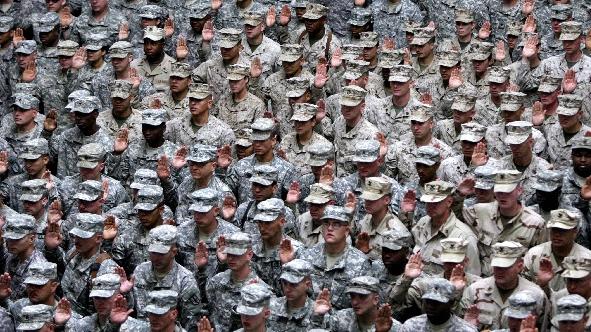 """美媒披露:美国""""绿色贝雷帽""""如何培训台军"""